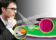 Magic Invisible Ink Perspective Glasses Seeing Invisible Playing Cards / Contact Lenses