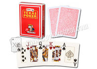 Italy Texas Modiano Plastic Jumbo Playing Side Marked Cards For Poker Predictor