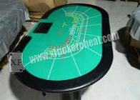 Luxury Texas Holdem Poker Card Games Casino Gaming Baccarat Table