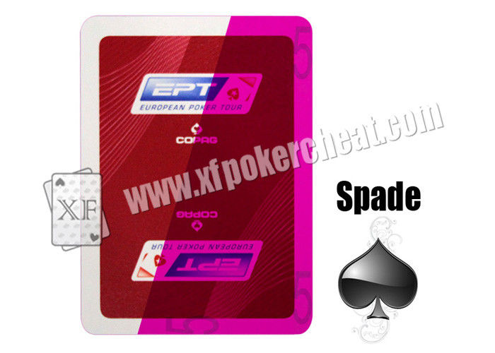 2 Jumbo Index Copag EPT Invisible Playing Cards SPY Playing Card For Casino Games