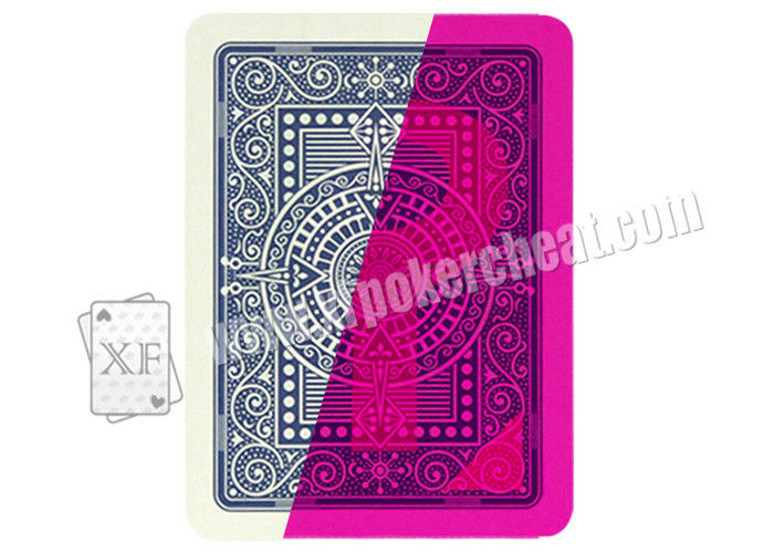 Italian Modiano Texas Holdem Invisible Marked Spy Playing Cards For Private Party