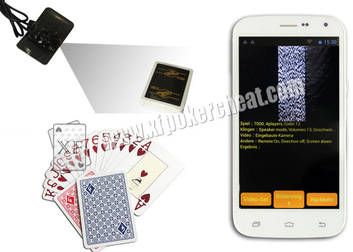Modiano Trieste Side Marked Playing Cards For Game Phone Analyzer Gambling Gadget