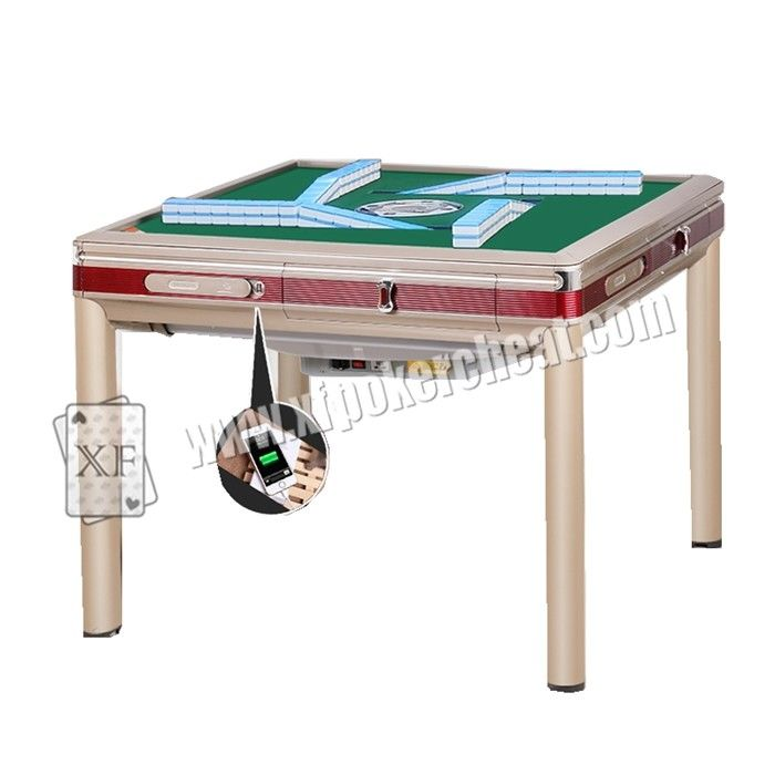 Plastic Casino Cheating Devices , Mahjong Cheating Set With Monitoring System