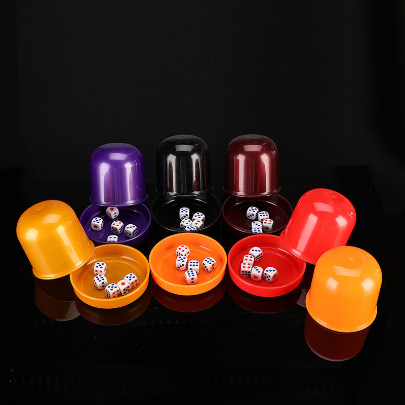Remote Control Round Plastic Cup For Casino Dice Gambling Cheat