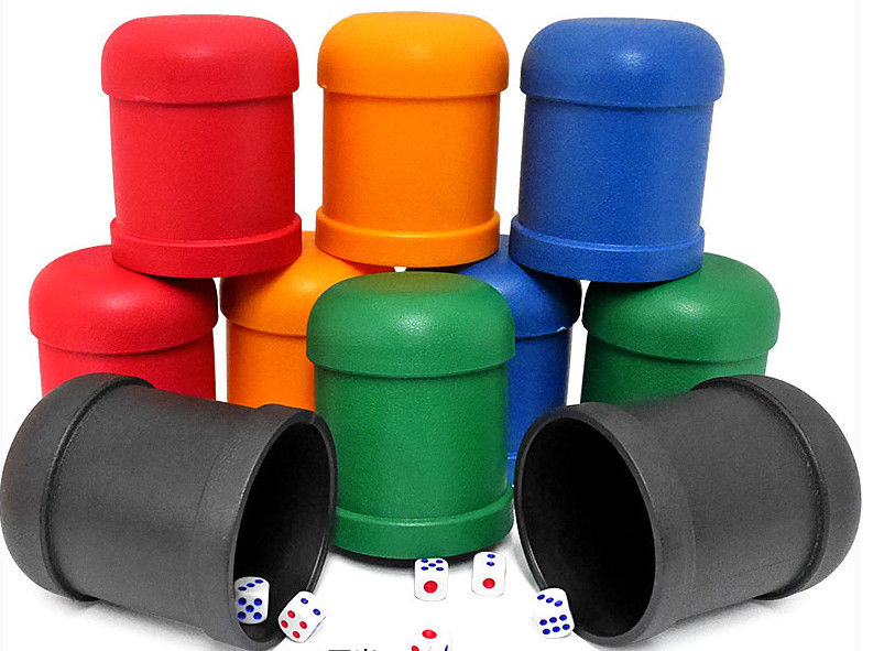 Perspective Dice Cup / Casino Magic Dice Cheating Device With 4h Battery