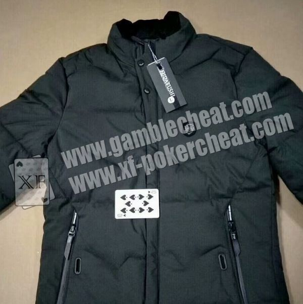 Jacket Poker Exchanger Without Noise And Exchange Cards Fast , Poker Cheat Device