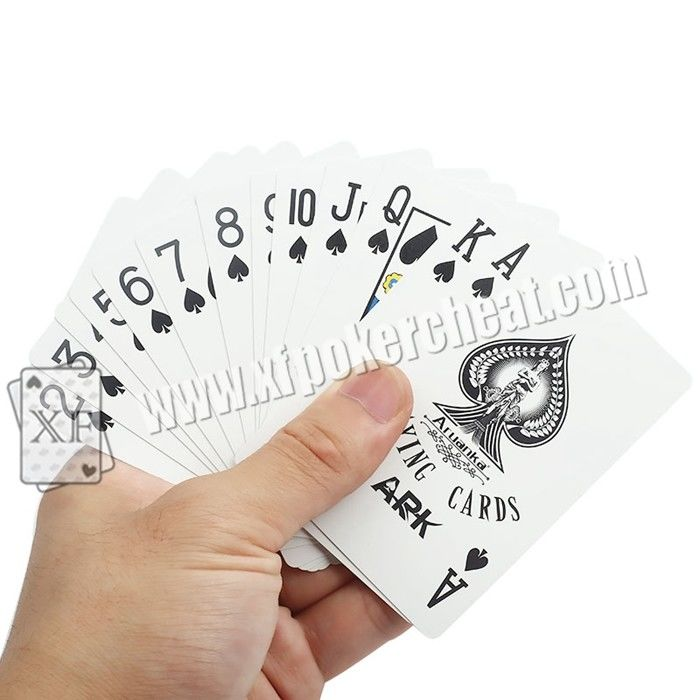 Durable ARK Plastic  Ink Bar - Codes Invisible Playing Cards For Poker Club