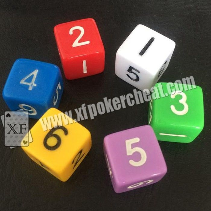 Customizable Gambling Accessories / Permanent Point Casino Game Dice