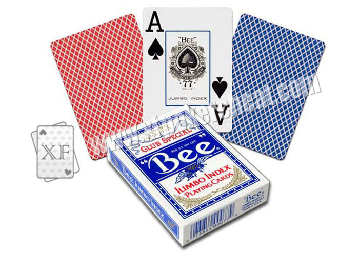 Bee Jumbo Index Playing Cards Marked Cards Poker For Gambling Cheating