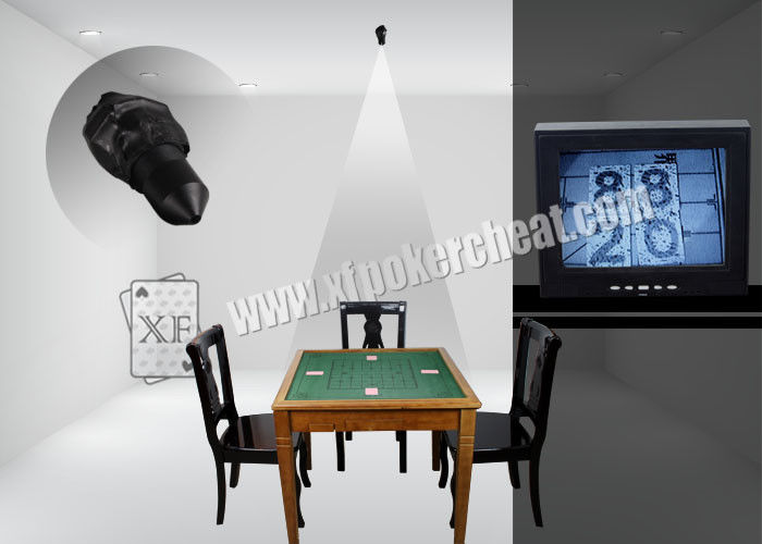 Black Mini Hidden Spy Infrared Laser Camera Cheating Devices For Casino